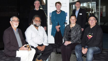 AIATSIS Council members visit NCIG, 2015
