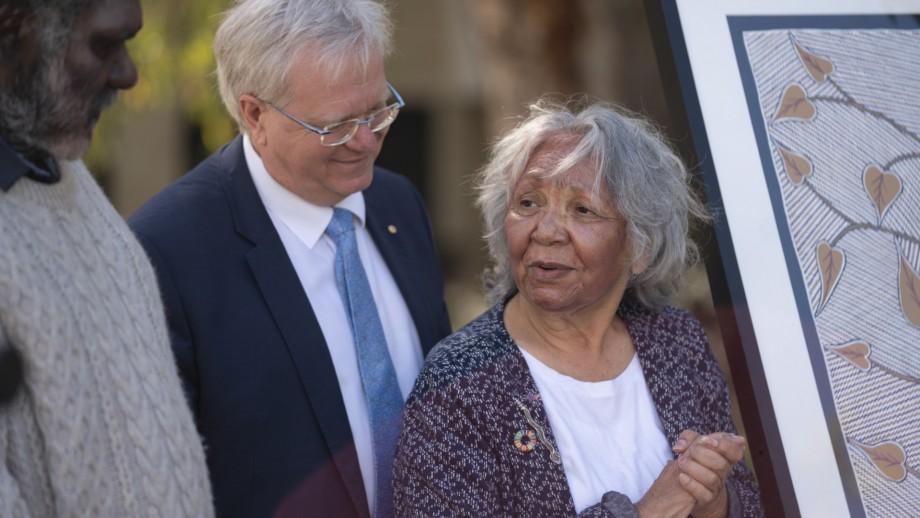 Galinwin'Ku ceremony, ANU